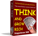 Think and Grow Rich contents page
