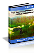 The Creative Process In The Individual contents page