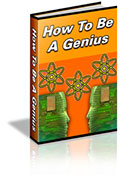 How To Be A Genius book graphic