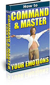 How To Command And Master Your Emotions book graphic
