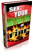 Set Your Motivation On Fire book graphic