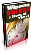 Wipeout Stress In Record Time book graphic