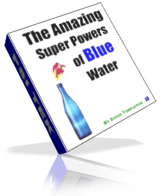 Blue Water Graphic