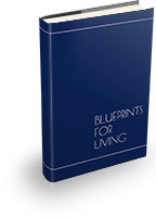 Blueprints For Living book graphic
